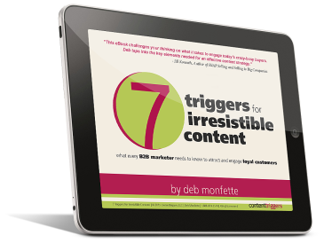 7 Triggers for Irresistible Content Free eBook