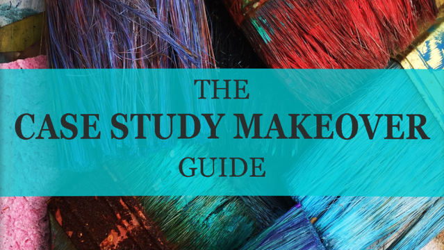 Cover of Case Study Makeover Guide Paint Brushes